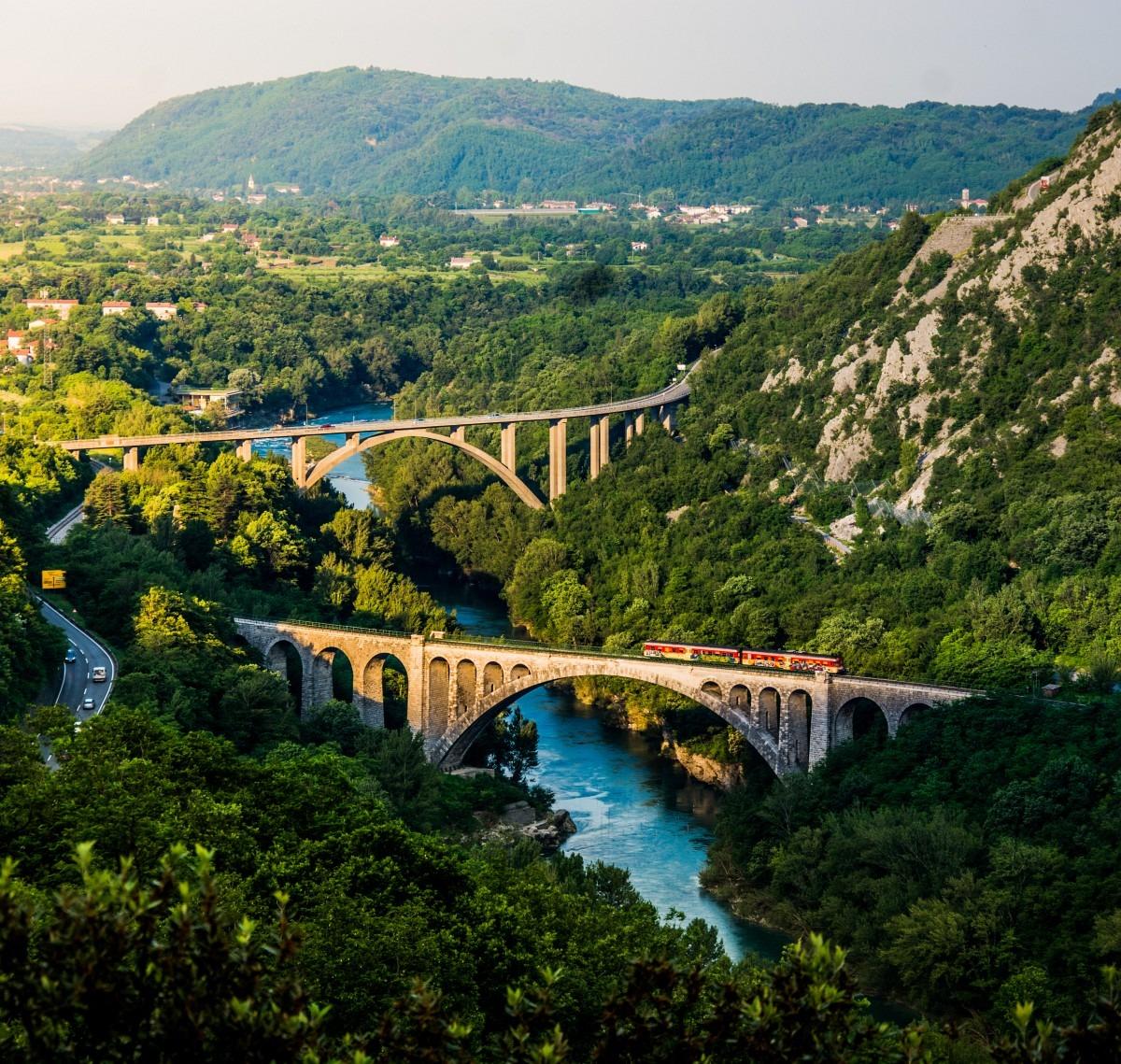 History tour of Slovenia