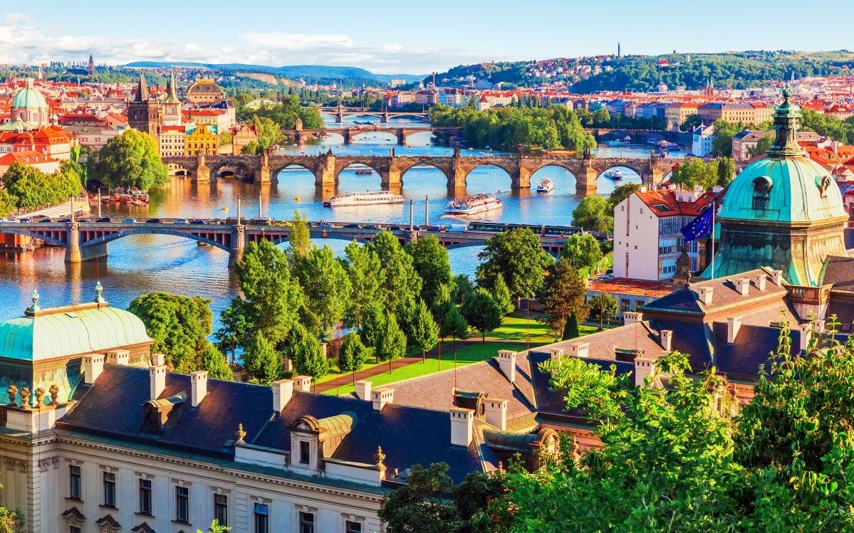 Budapest - Vienna - Prague
