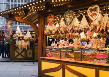 You can get all kind of goods on Christmas markets in Central Europe