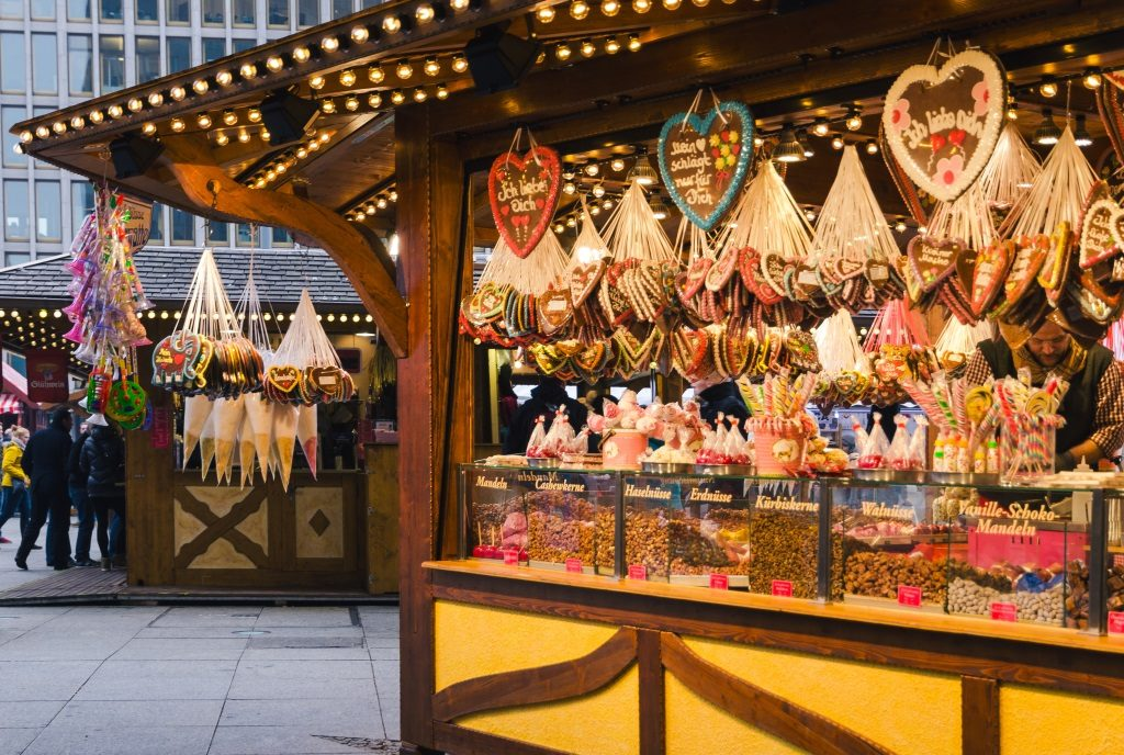 You can find all kinds of local products on Christmas markets.