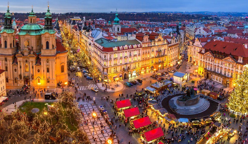 Christmas in Prague.