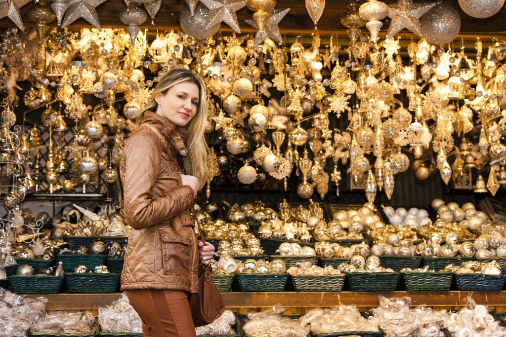 Shopping on Vienna´s christmas markets.
